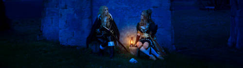 CASTLEVANIA cosplay - Alucard and Maria
