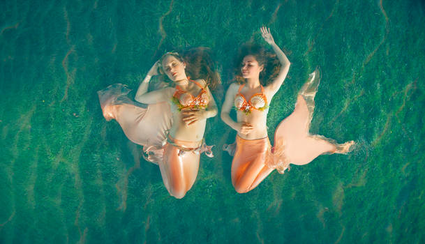 Mermaids - Laura Subil and Marie Flamme