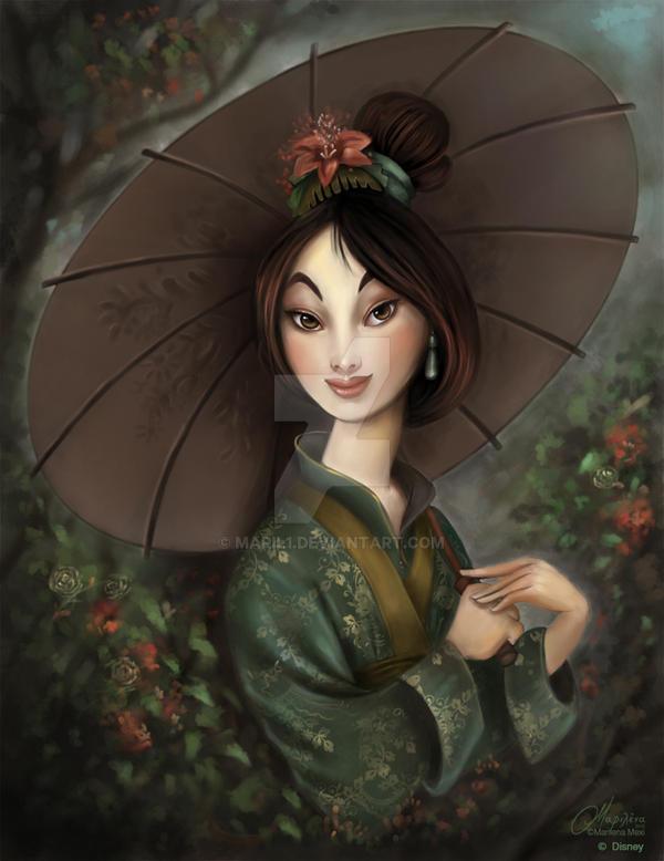 Mulan by maril1