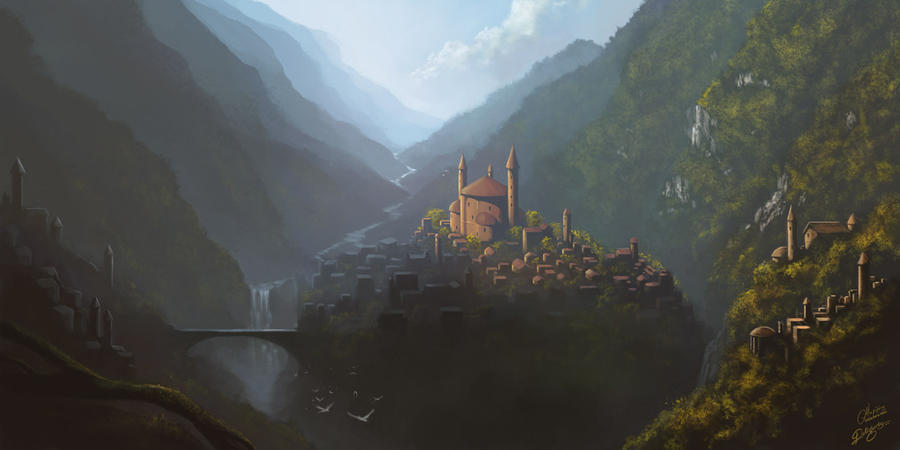 The Hidden Castle by maril1