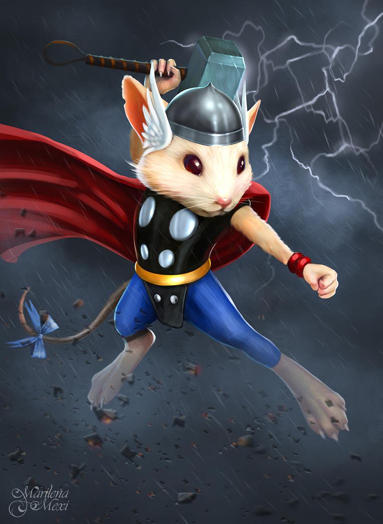 Cap Cap Thor by maril1