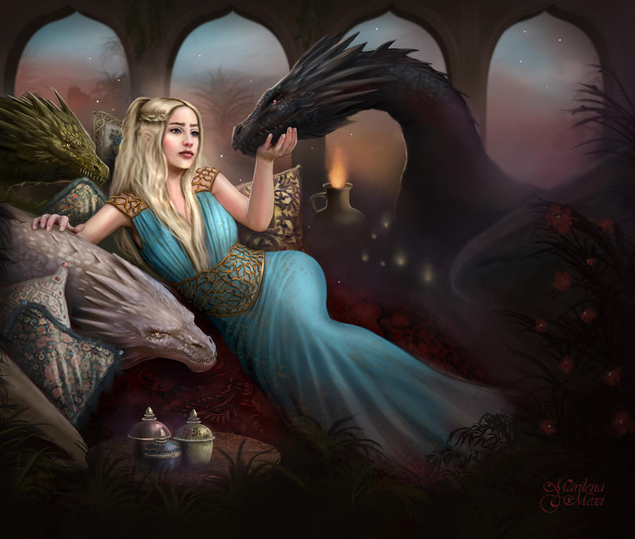 Mother of Dragons by maril1