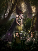 The Healing Spell by maril1
