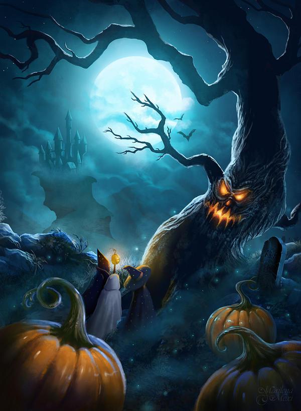 Halloween Night by maril1