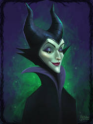 Maleficent - Fan Art