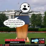 Cereal Guy for president