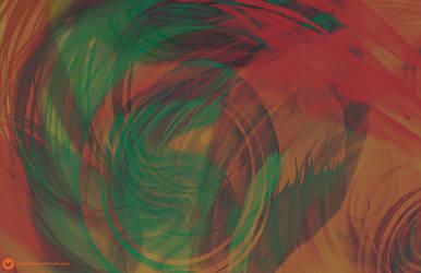 Psychedelic Background by orangecranestudios