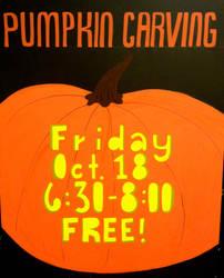 Whole Foods: Pumpkin Carving by orangecranestudios