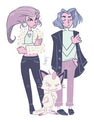 Prepare for Trouble : Fashion Brats Edition by FinchFish