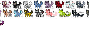 {Free} LilCanine Adopts: Open. by AJsRandomness