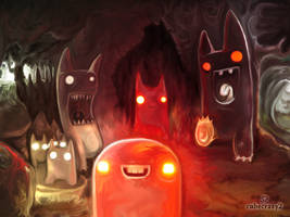 Stoplight Demons by cubecrazy2
