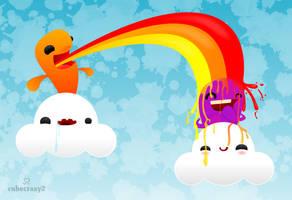 Rainbow Shower by cubecrazy2