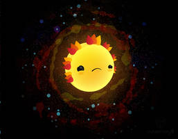 Sad Sun by cubecrazy2