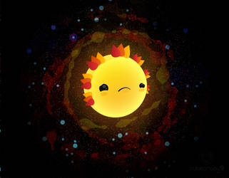 Sad Sun by cubecrazy2