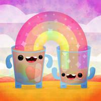 Cute Cups by cubecrazy2