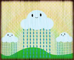 Happy clouds by cubecrazy2