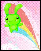 Green Bunny by cubecrazy2