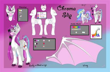 chroma slip 3.0 ref sheet by ChromaSlip