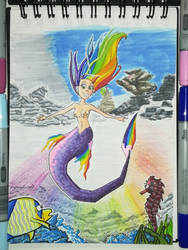 Mermay 2018 - Challenge 1 - Rainbow by InfinitySama