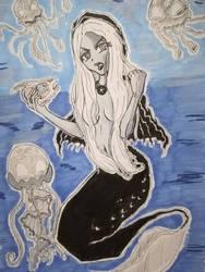 Mermay 2018 - Challenge 2 - Gothic by InfinitySama