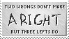 Right is ...