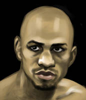 Boxer Speed Painting by MikeMeth