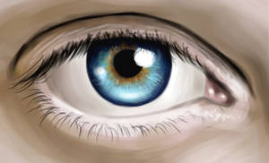 Eye Speed Painting by MikeMeth