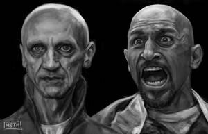 Game of Thrones: Bald Guy Speedpaint Mash-Up! by MikeMeth