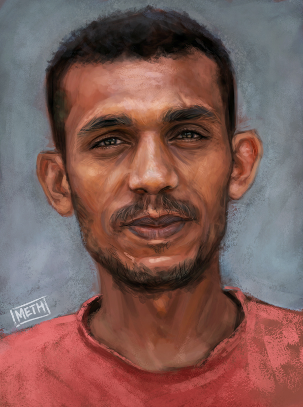 Young Saudi Man by MikeMeth