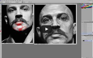Tom Hardy Portrait Critique