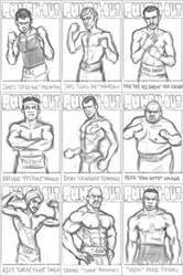 Punch-Out Sketches