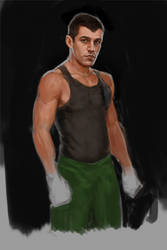 Little Mac Progress by MikeMeth