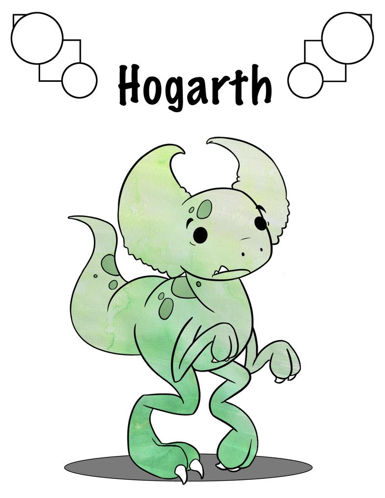 Hogarth the Bogbart title page by BananaTaco