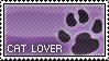 Stamp - Cat Lover by MauserGirl