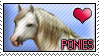 Stamp - Love Ponies by MauserGirl
