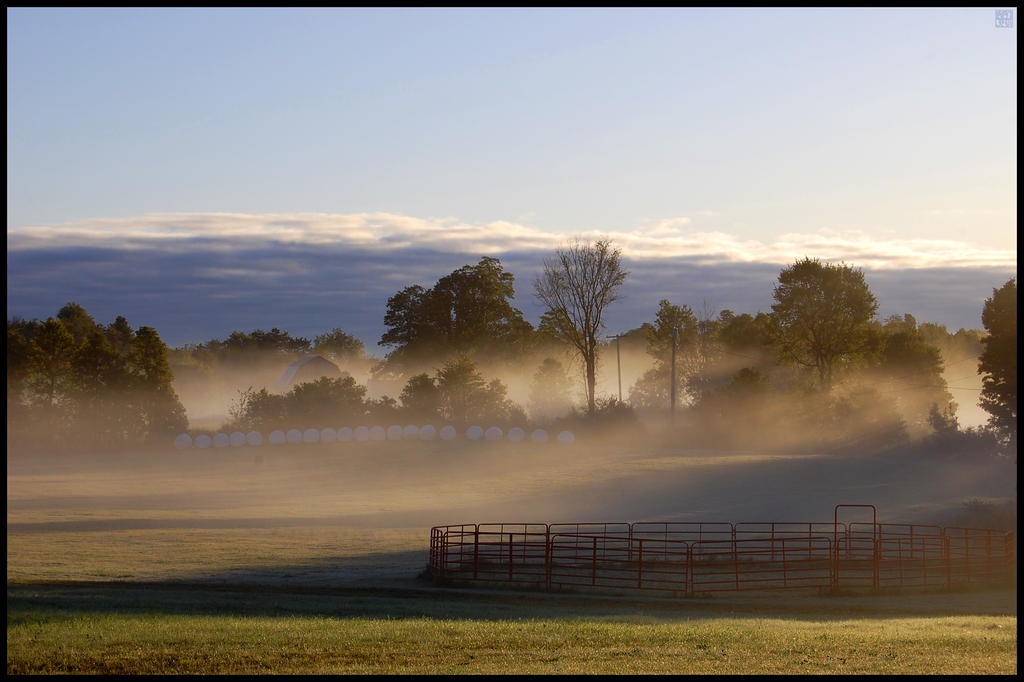 Gouverneur, NY - Morning Fog by MauserGirl