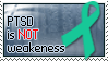 Stamp - PTSD is NOT Weakness by MauserGirl