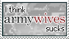 Stamp - Army Wives Sucks by MauserGirl