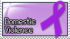 Stamp - Domestic Violence by MauserGirl