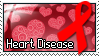 Stamp - Heart Disease by MauserGirl