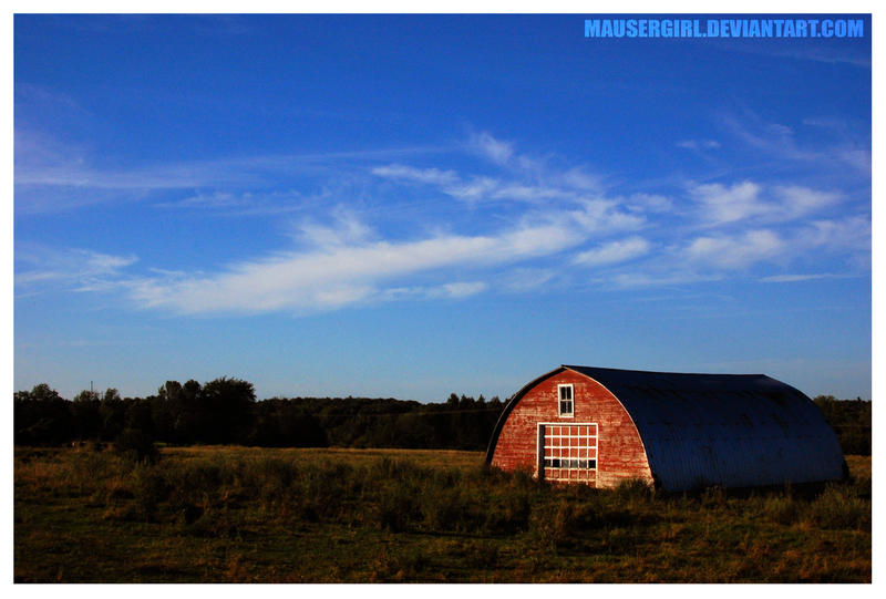 The Red Barn by MauserGirl