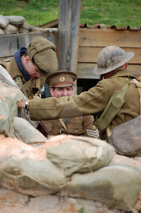 In the Trenches by MauserGirl