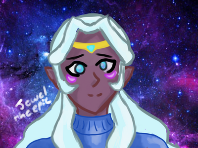 Space Mom Sweater by JeweltheEpic
