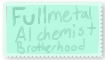Fullmatal Alchemist Stamp by JeweltheEpic