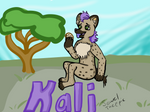 Kali the Hyena by JeweltheEpic