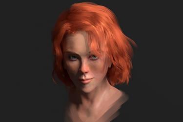 Natasha Romanoff by ArchAstra
