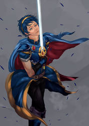 Marth by ArchAstra