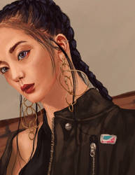 Jisoo / Black Pink by ArchAstra