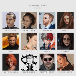 Art Summary 2018 by ArchAstra