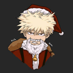 Bakugou's Christmas part-time job by ArchAstra